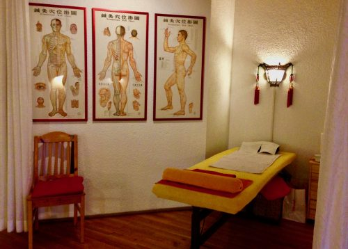 Programm Herbst 2018: Massage-Liege