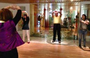 Bewegung: Qigong-Übung
