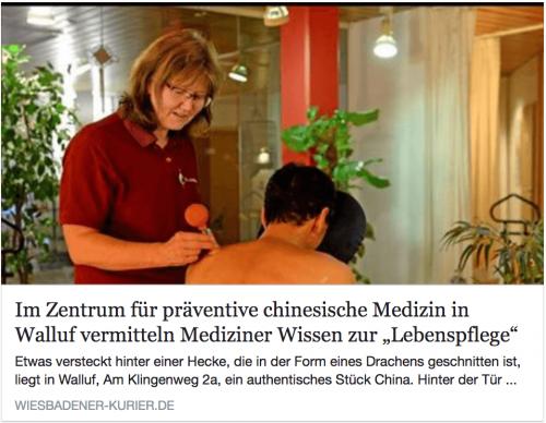 Im Zentrum für präventive chinesische Medizin e.V. wird Wissen zur Lebenspflege vermittelt