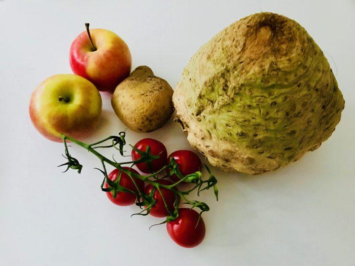 Helfer beim Einkauf: Gemüse der Saison